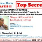 Seminar Bisnis GRATIS di Kudus – Much. Nasrulloh Al Jufri