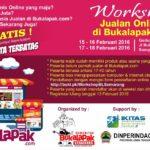 Workshop Jualan Online di Bukalapak.com