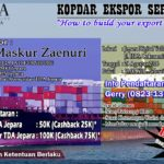 "KOPDAR EKSPOR SERIES (KES) #1 : ""How to build your export market"""