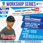 PENDAFTARAN WORKSHOP YOUTUBE MARKETING