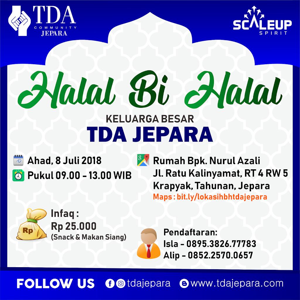 Halal Bi Halal TDA Jepara